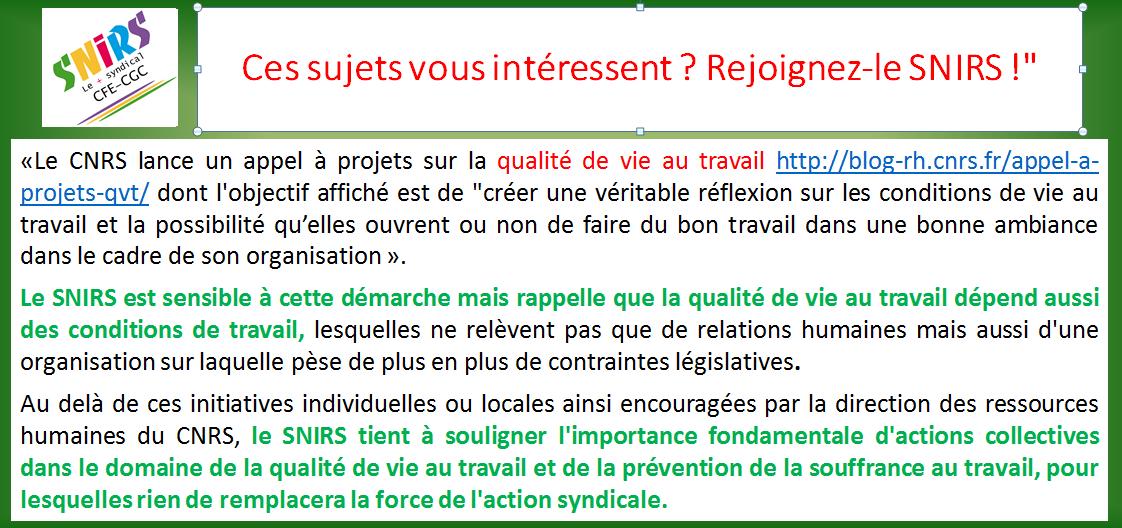 Diap_communiqué QVT au CNRS
